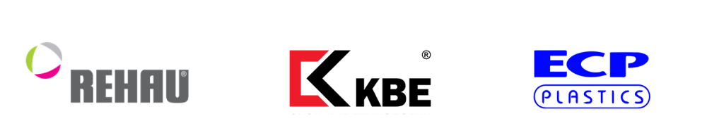 Логотипы брендов по производству пластиковых окон